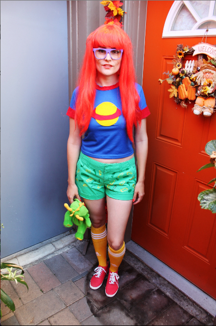 Diy chuckie finster costume the rugrats fancy made diy diy chuckie finster costume the rugrats solutioingenieria Images