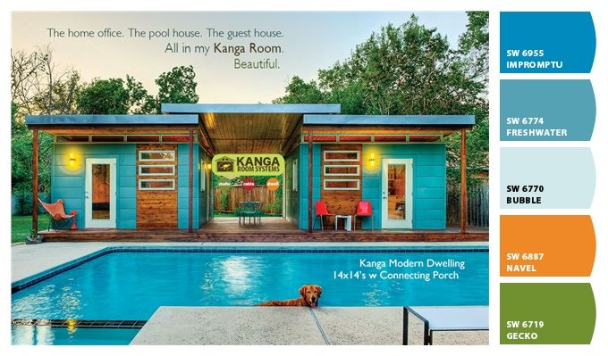 Pool House Paint Colors From Chip It By Sherwin Williams