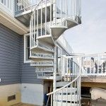 Best These Galvanized Steel Spiral Stairs Are A Great Choice 640 x 480