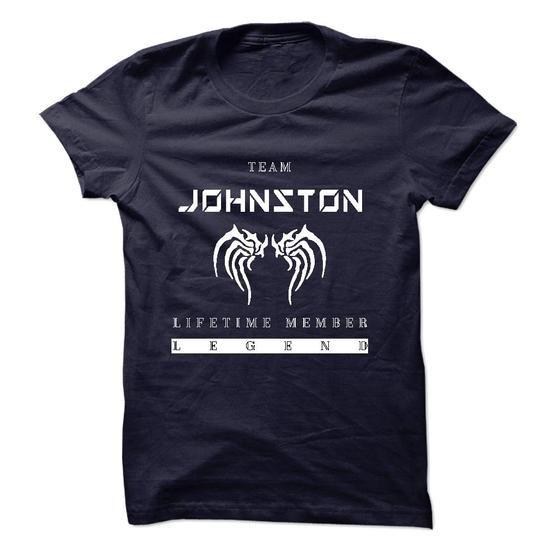 TEAM JOHNSTON LIFETIME MEMBER LEGEND 2015 DESIGN - #gift ideas #retirement gift. PURCHASE NOW => https://www.sunfrog.com/Names/TEAM-JOHNSTON-LIFETIME-MEMBER-LEGEND-2015-DESIGN.html?68278