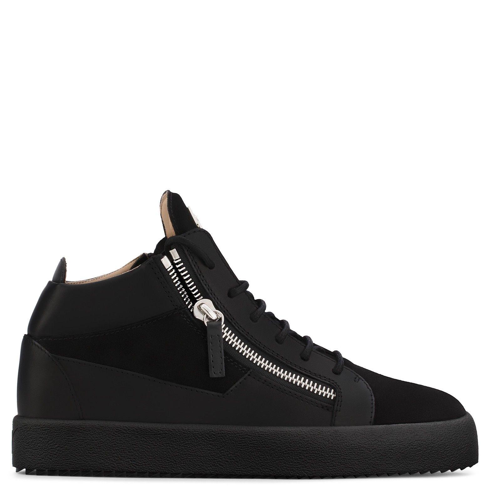 GIUSEPPE ZANOTTI KRISS - Black. #giuseppezanotti #shoes #