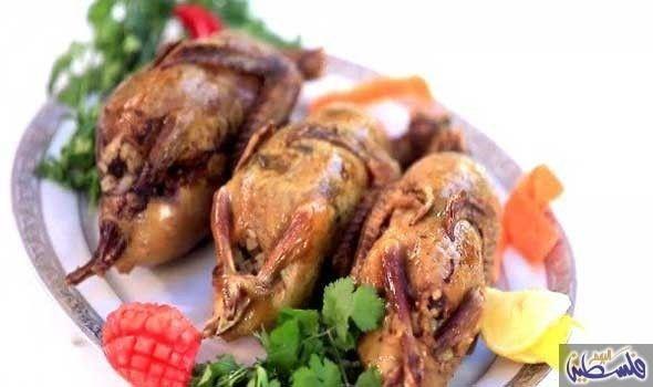 وصفة الحمام المحشي بالأرز Recipes Food Chicken