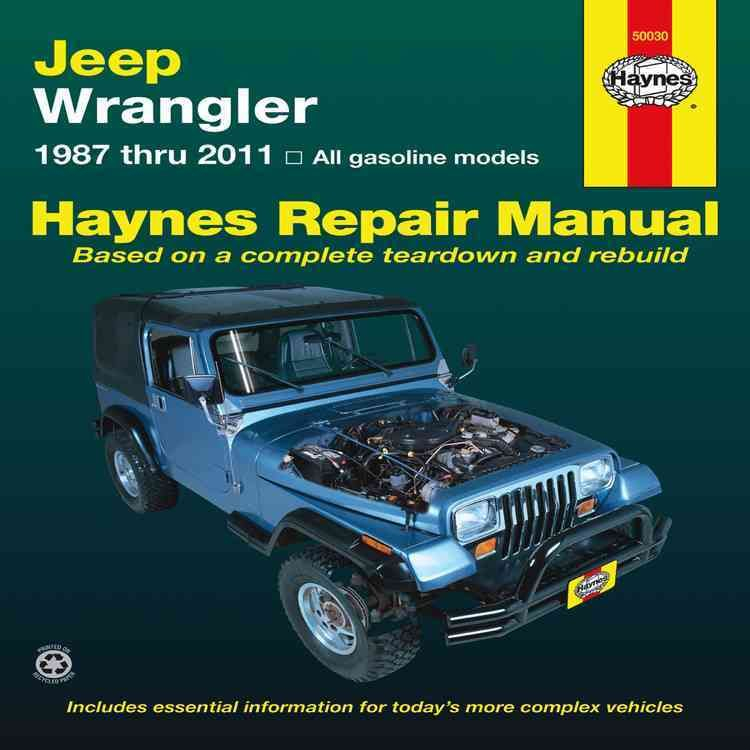 Jeep Wrangler 1987 Thru 2011 All Gasoline Models Paperback Overstock Com Shopping The Best Deals On Automotive Repair Manuals Jeep Wrangler Jeep