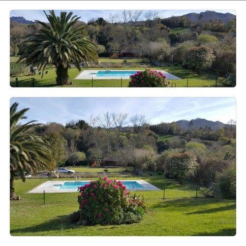 exterior, jardines , piscina
