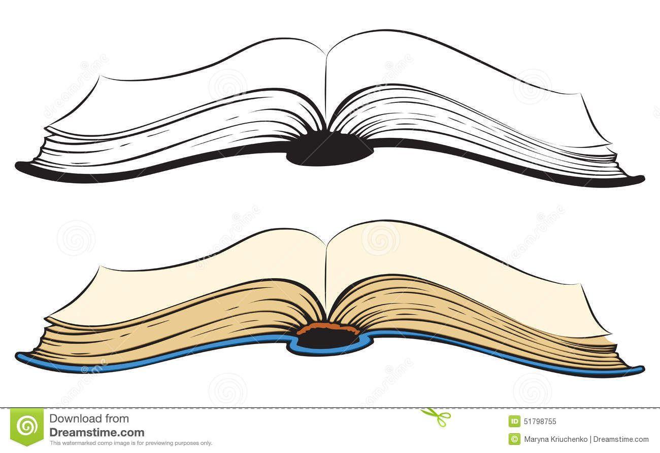 open book vector sketch obsolete scrapbook flying leafs side view