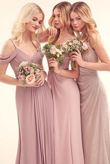 Infinite By Wed2b A Collection Of Mix And Match Bridesmaids Dresses In Variety Colours Fabrics Styles