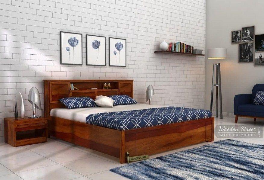 Best Buy Ferguson Hydraulic Bed King Size Honey Finish 640 x 480