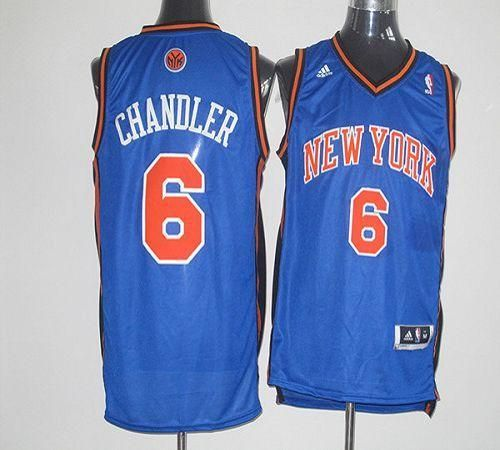 Only 21.50USD Cheap NBA New York Knicks 6 Tyson Chandler Blue Leopard Print Fashion  Jersey 2013 ... 1fa0e34ec