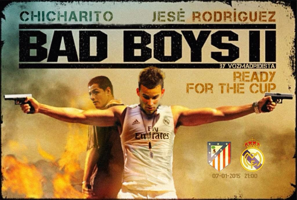 Poster Badezimmer ~ Jesé rodríguez y chicharito hernández bad boys posters