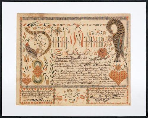 Anthony Rehm (Montgomery and Bucks County, Pennsylvania, active 1804 ...