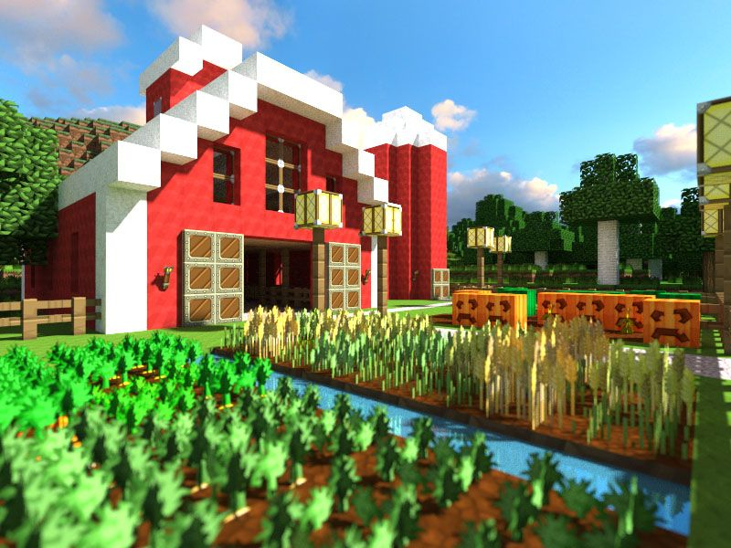 Idee Construction Minecraft Idees