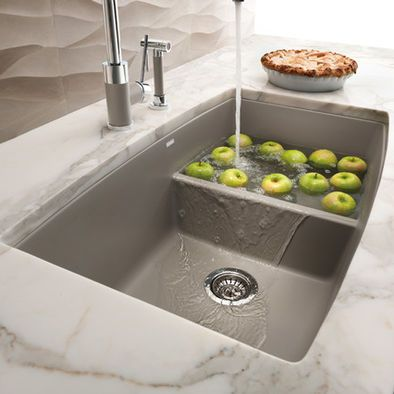 2ND CHOICE OF KITCHEN SINK ONLY IF 1ST CHOICE OF SILGRANIT CURVED BACK  WONu0027T DO Blanco Silgranit Sink