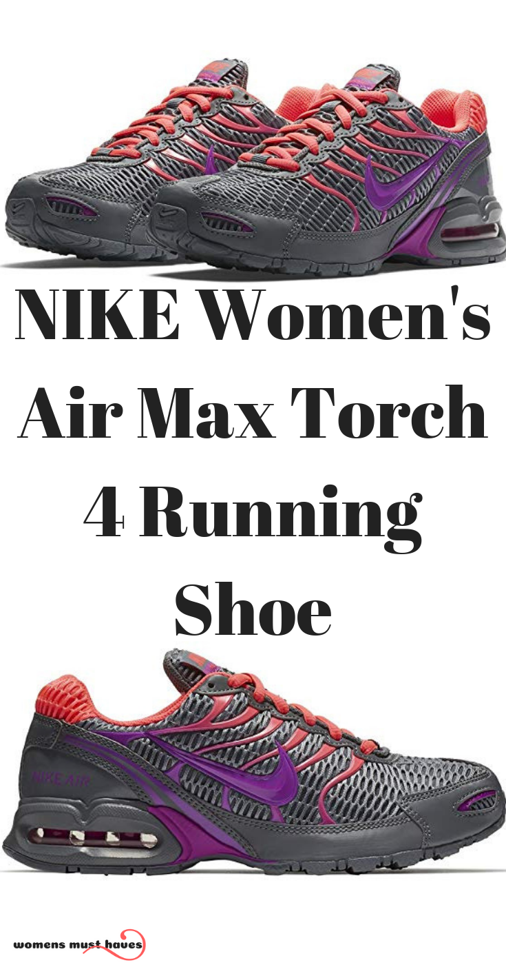15daafdaad7 Enjoy Discount NIKE Women s Air Max Torch 4 Running Shoe combines durable  cushioning with a flexible upper that delivers support and comfort.