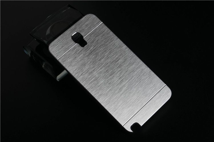 Luxury Brushed Metal Aluminium Material Case For Samsung Galaxy Note 3 Neo N7505 note3 neo phone case cover