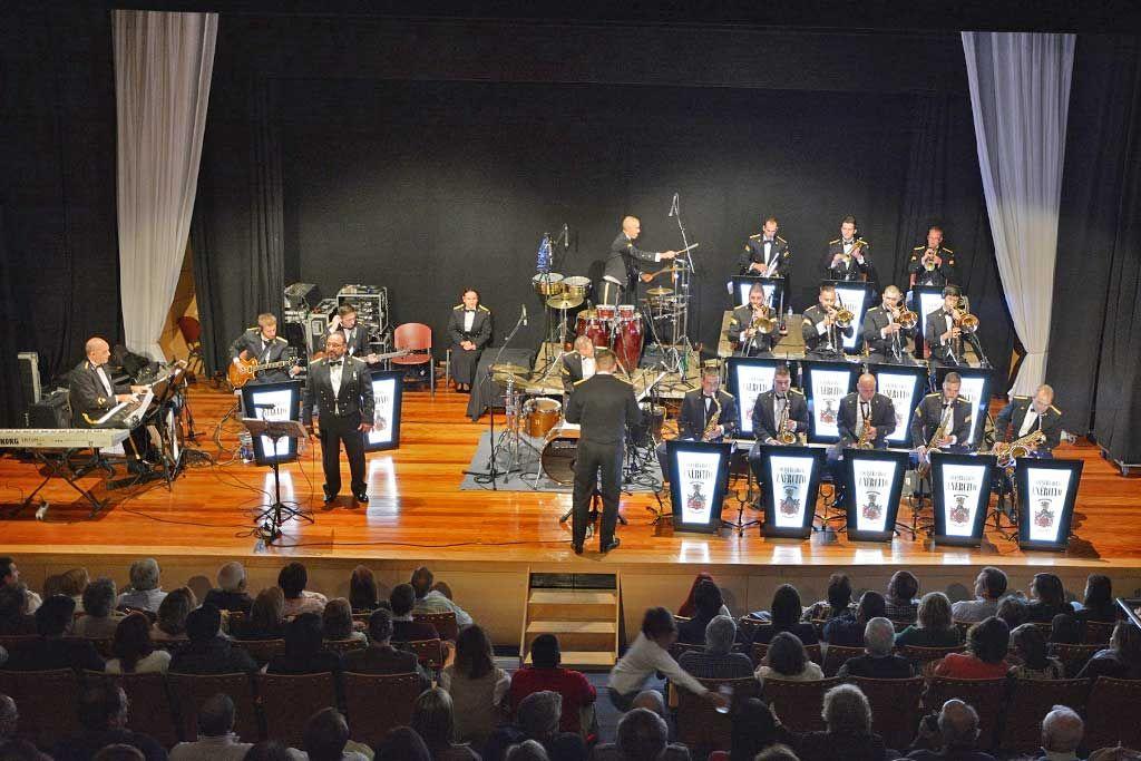 Orquestra Ligeira do Exército esgotou Auditório São Mateus | Portal Elvasnews