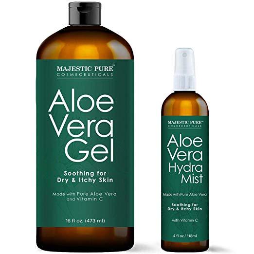 MAJESTIC PURE Aloe Vera Gel and Mist Super
