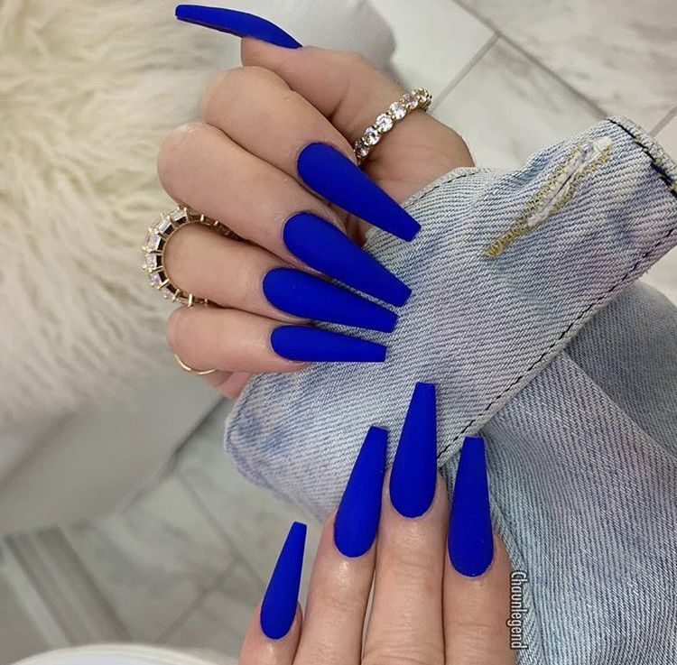 100 Fabulous Nail Art Design Ideas You Must Try In 2020 Page 15 Of 50 Life Tillage Blue Acrylic Nails Pretty Acrylic Nails Light Blue Nails