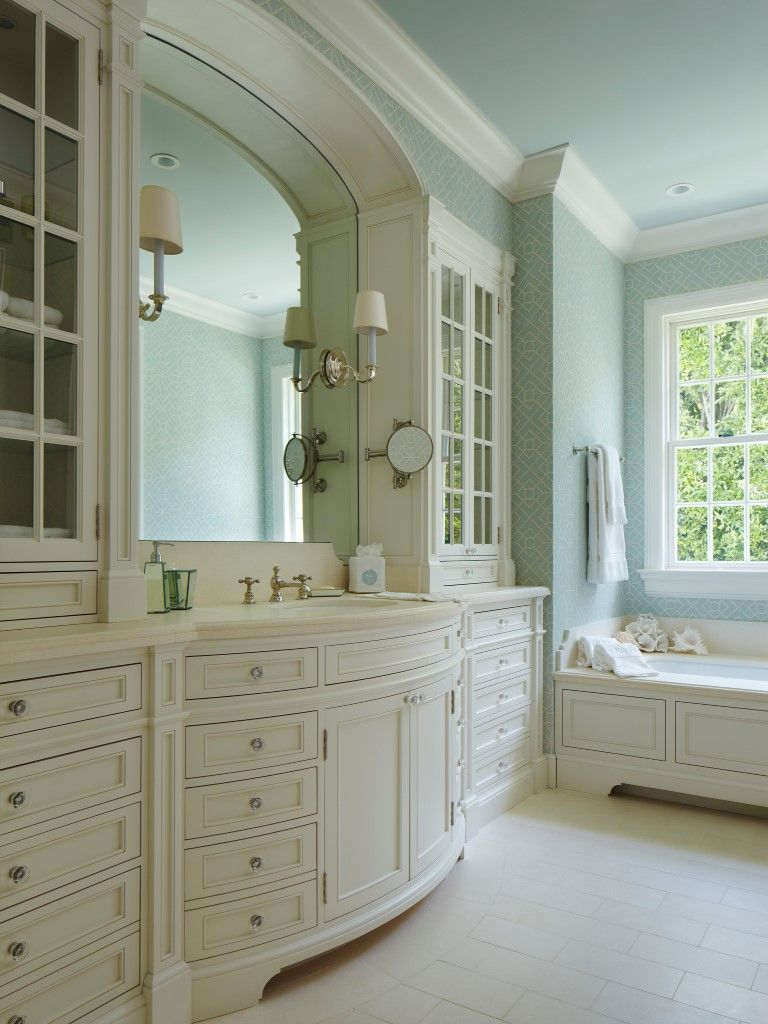 Traditional romantic master bedroom decor  Smith Moor Architects  Florida Ave  Wind Willow  Pinterest