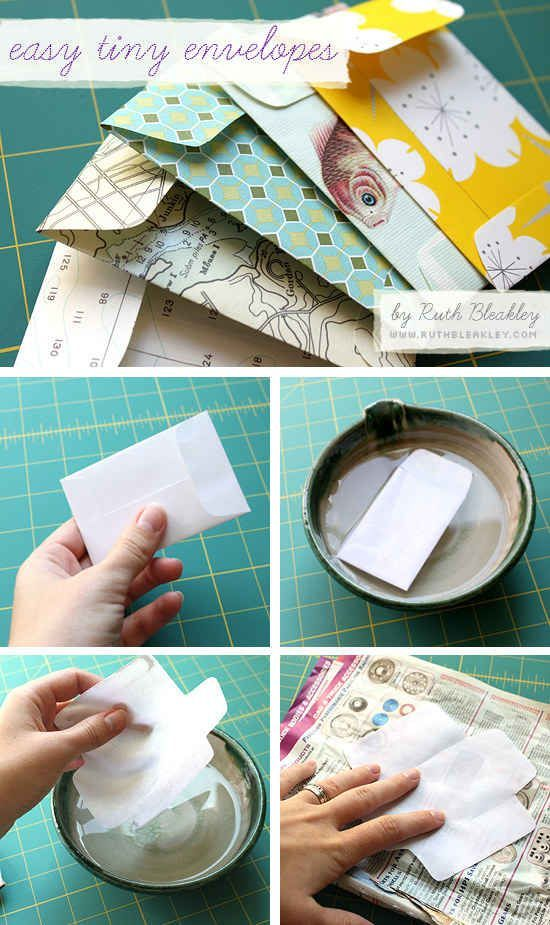 Créez de jolies enveloppes.