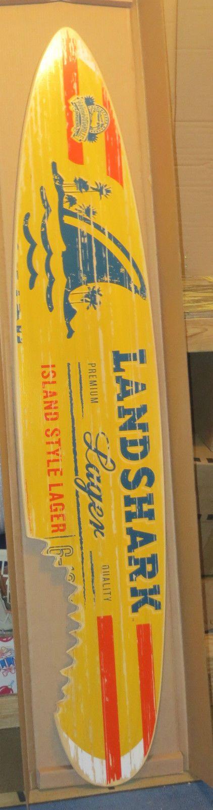Landshark Lager 6ft Official Surfboard Sign Beer New In