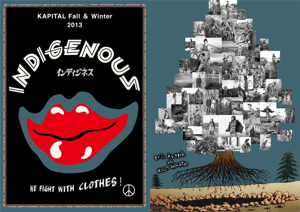 KAPITAL Catalog 2013 FALL WINTER - INDIGENOUS