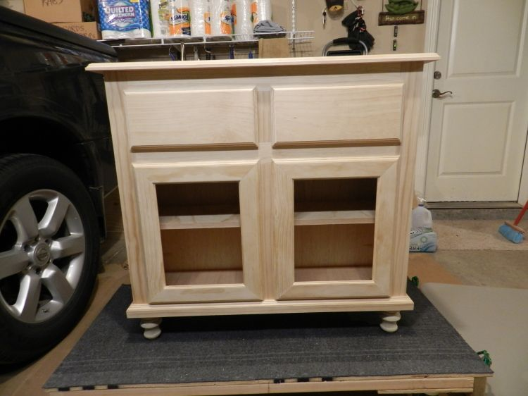 Kitchen or Bathroom Cabinet - Kreg Jig Owners Community ...