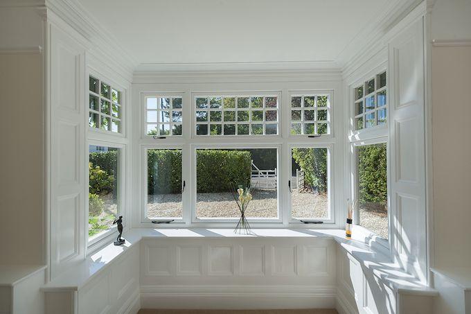 Lovely Box Bay Window Kitchen
