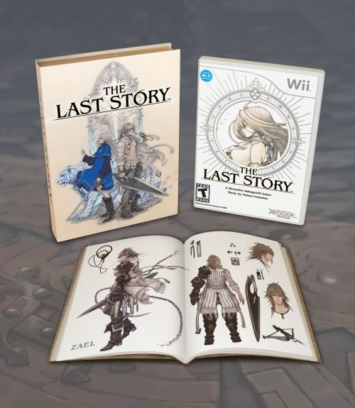 The Last Story with art book
