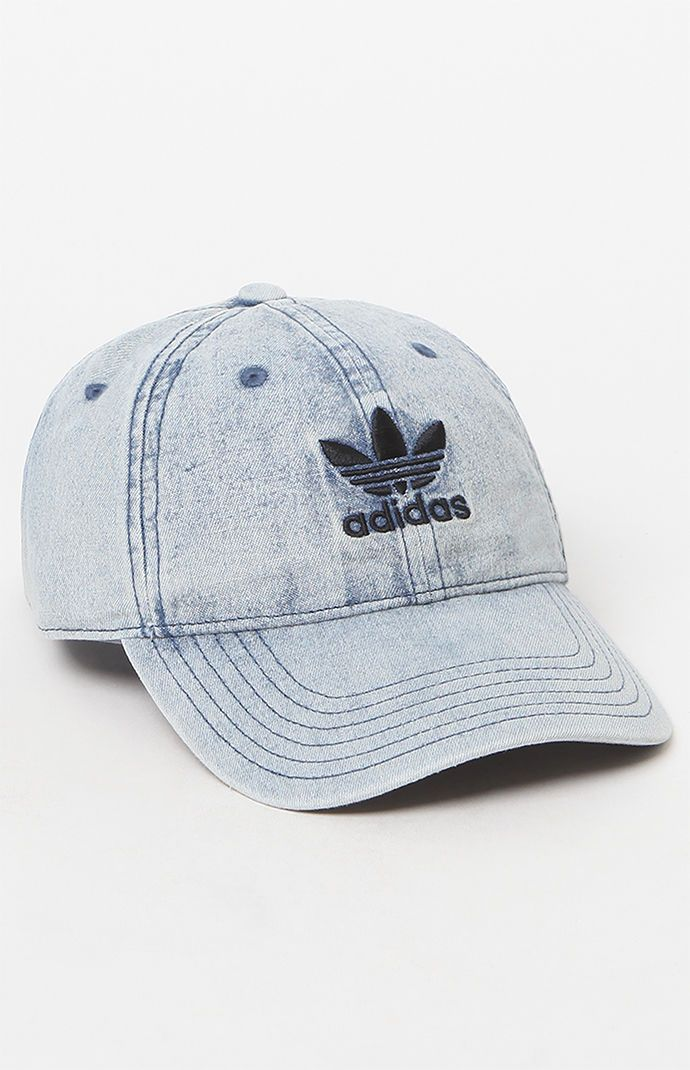 611ab307544 adidas Denim Relaxed Strapback Dad Hat at PacSun.com Adidas Hat