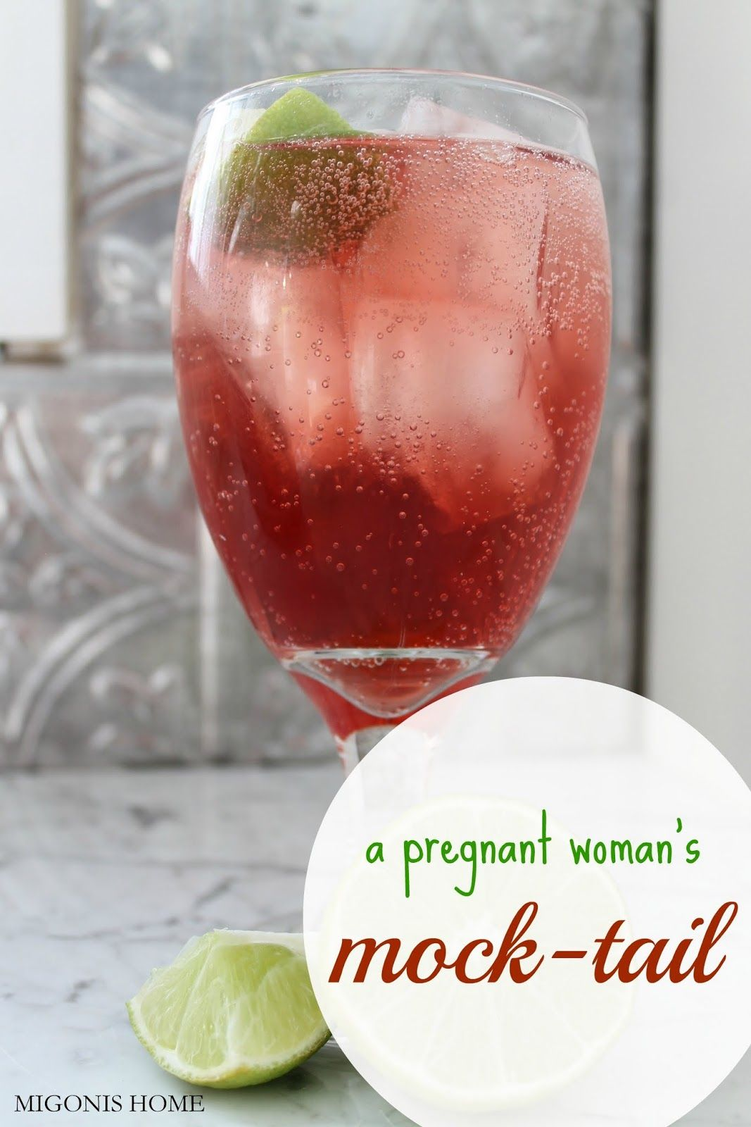 Migonis Home A Pregnant Woman S Mocktail Mocktails Yummy Drinks Summer Drinks