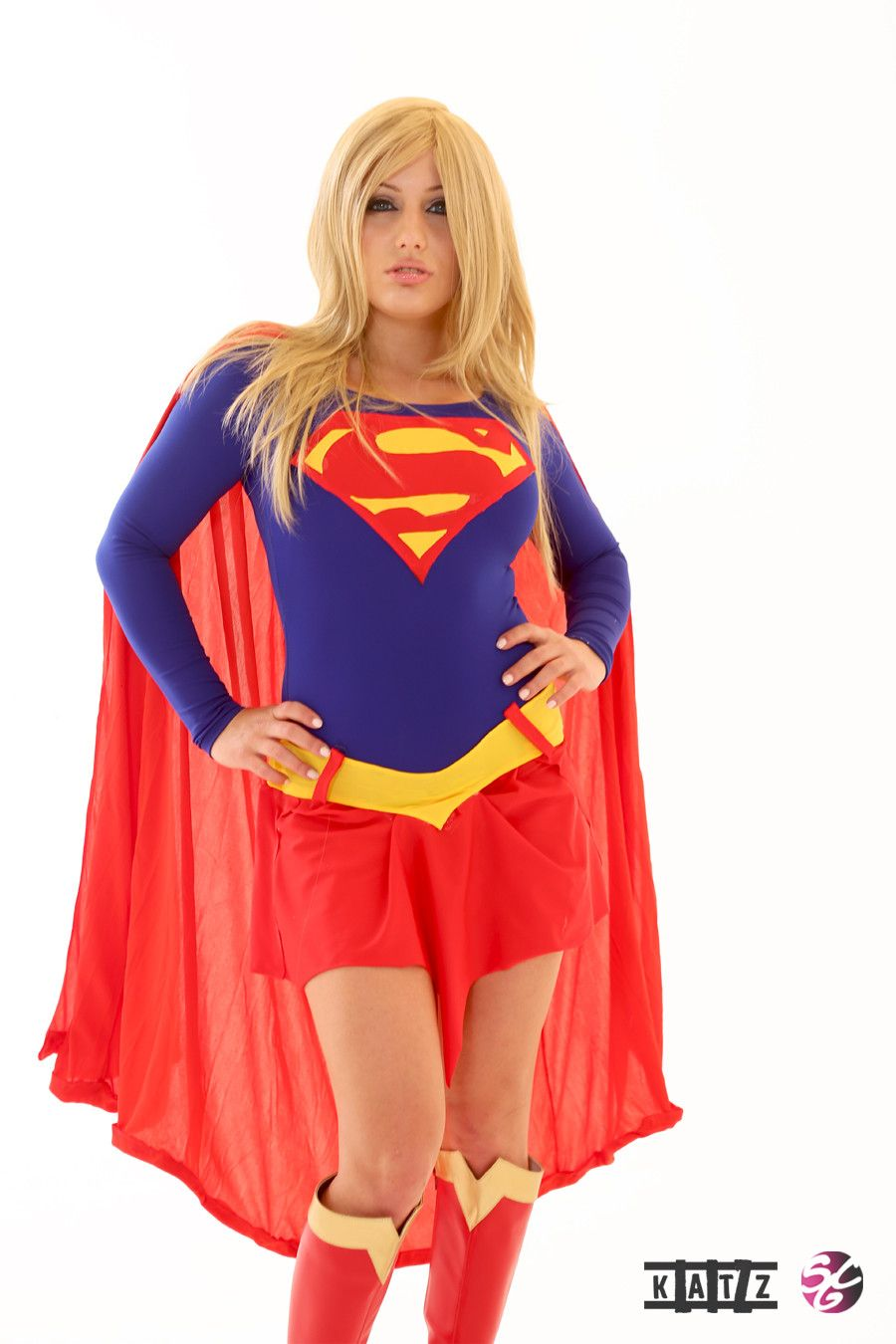 woman Busty supergirl