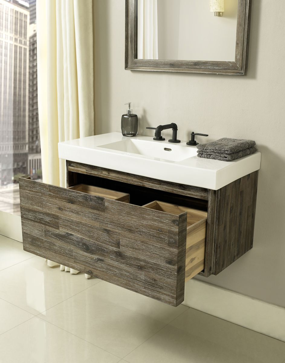 fairmont designs acacia bathroom vanity ferguson trends rh pinterest com  ferguson small bathroom vanities