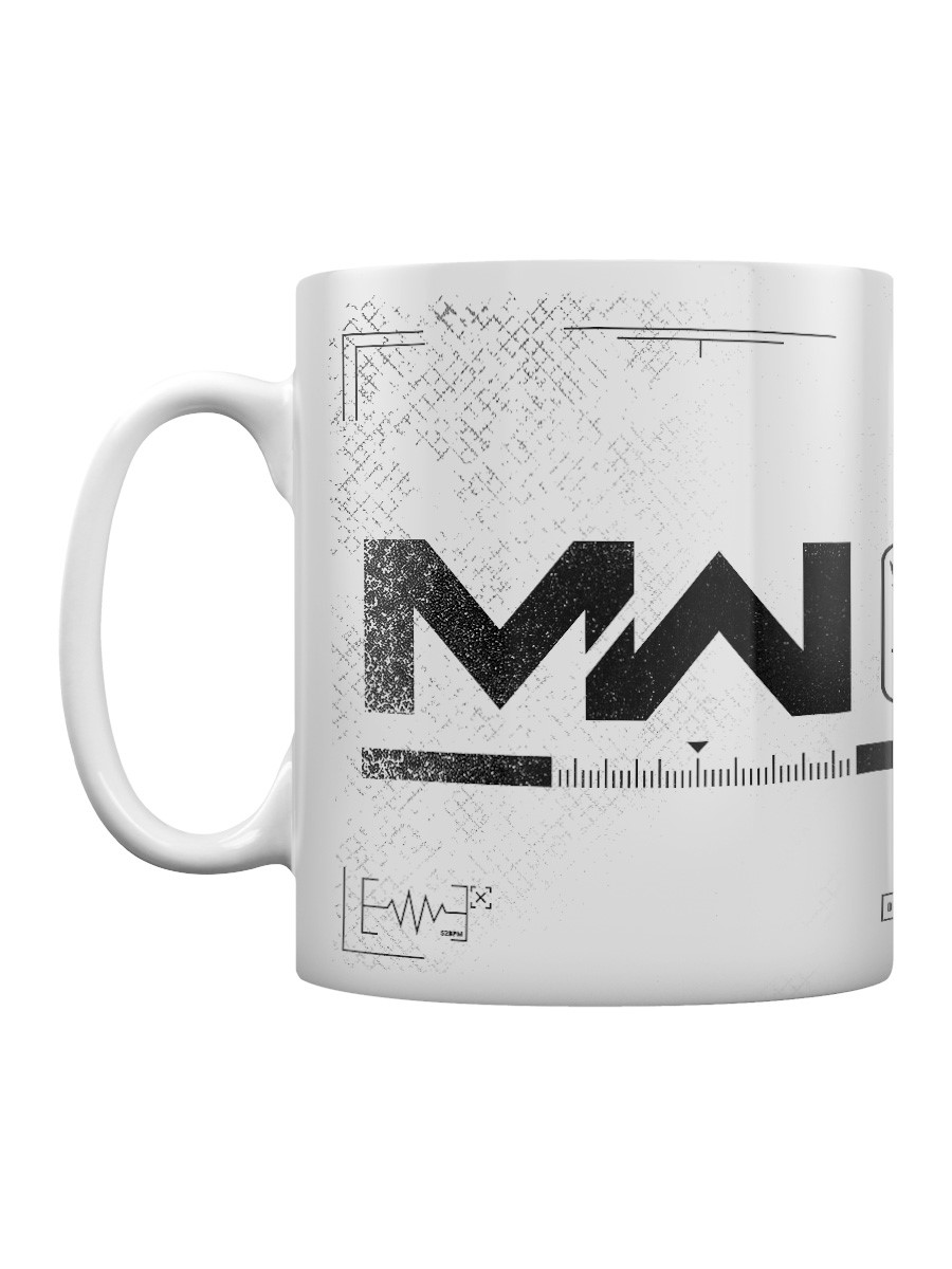 Call of Duty Modern Warfare Logo Coffee Mug Modern