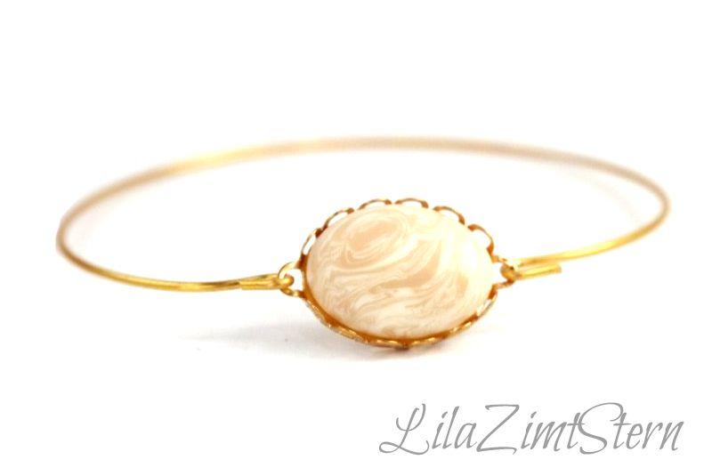 Goldener Armreif von LilaZimtStern