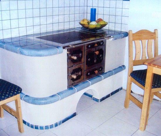 Küchenherde Kachelöfen und Kamine von BIOFIRE Kachelofen - küchen holzofen wasserführend