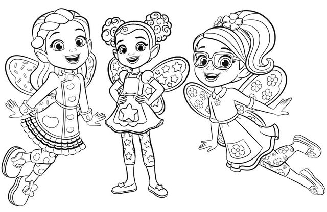 dazzle coloring pages for children - photo#43