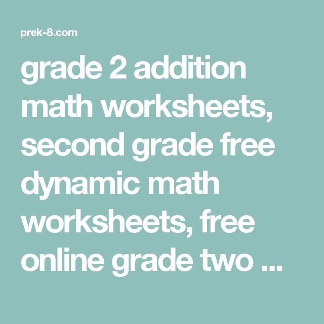 Grade 2 addition math worksheets second grade free dynamic math grade 2 addition math worksheets second grade free dynamic math worksheets free online grade ibookread Read Online