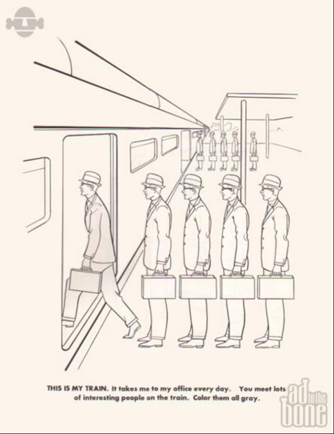 libro para colorear ejecutivos | ilustracion | Pinterest | Libros ...