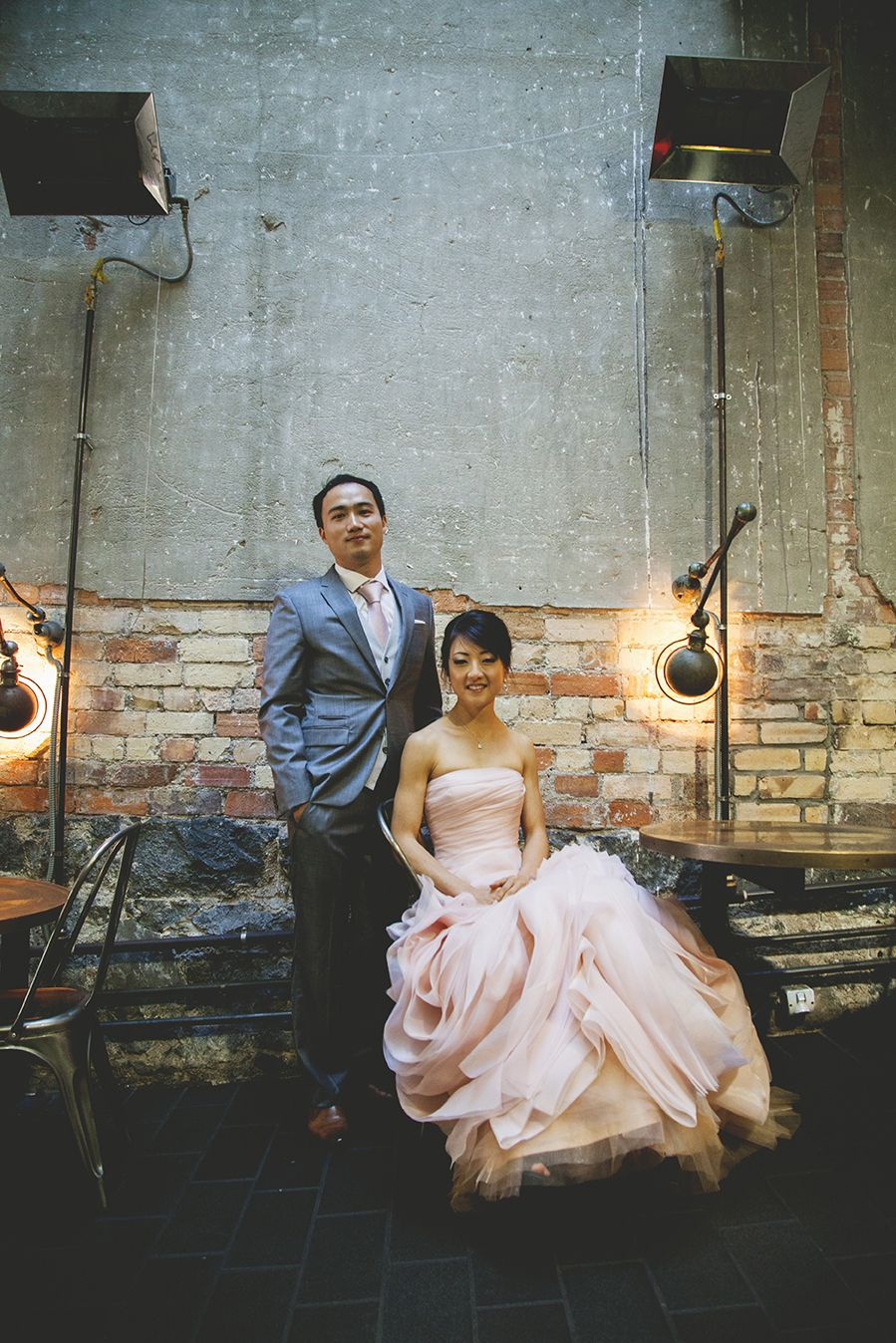 My city wedding photos in the Imperial Buildings, Auckland