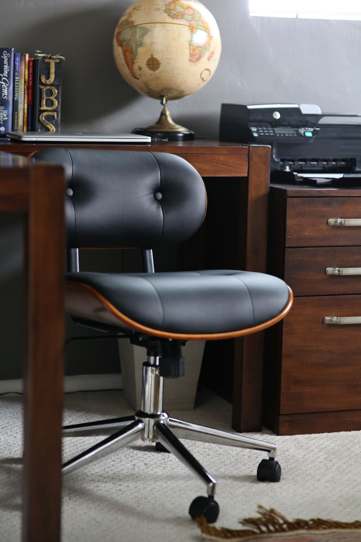 mr. gets a new desk chair | desks, modern and woods
