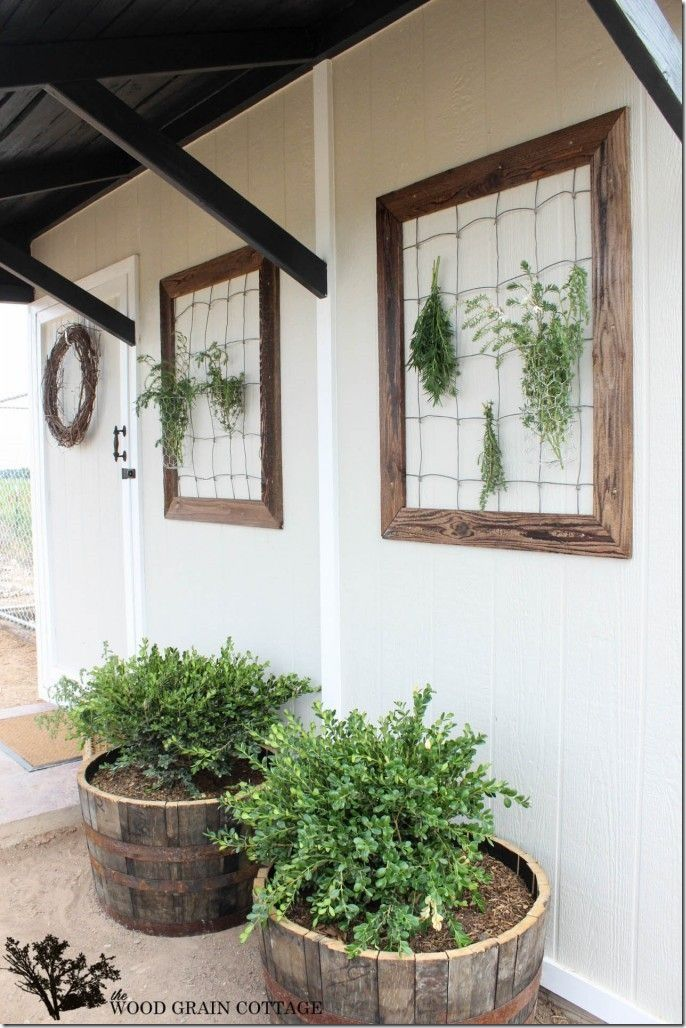 Herb Drying Racks Great Ideas Pinterest Shed Makeover