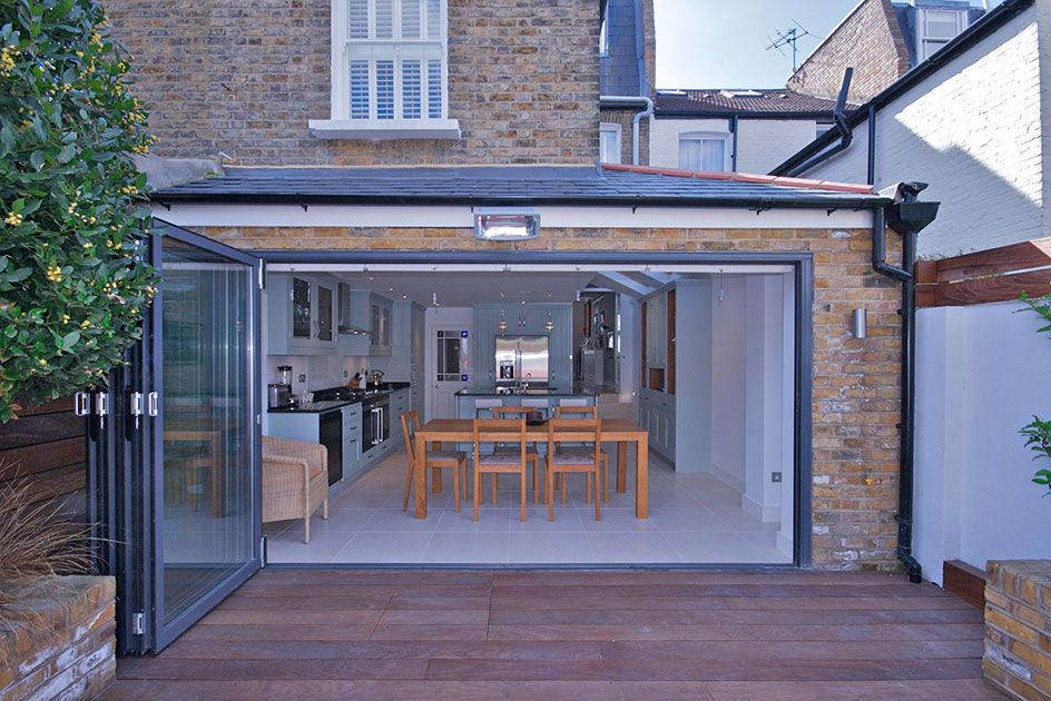 Salcott Rd Sw11 Kitchen Extension House Extension Design Small House Extensions