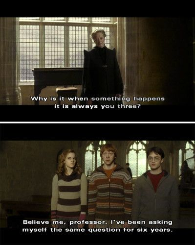 Harry Potter Stuff  C B I Love How Even During The Darkest Of The Hp Movies The Humor Shows Through