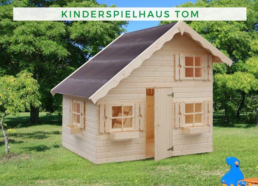 Palmako Kinderspielhaus Tom Aus Nordischer Fichte Spielhaus Tom Spielhaus Kinderspielhaus