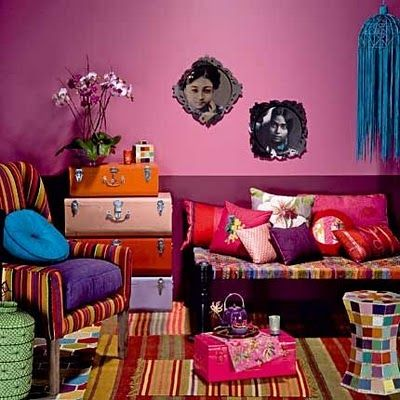 In my first house, I want my living room to look like this