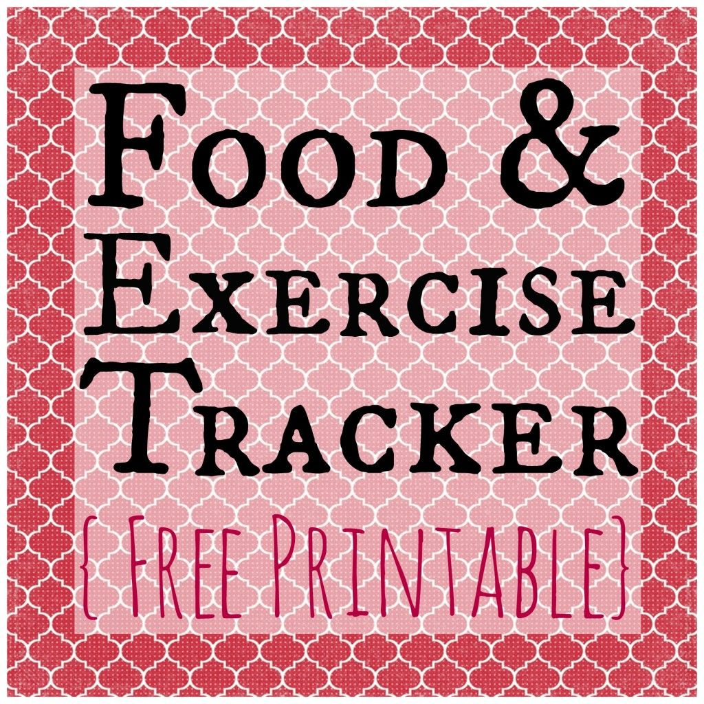 freebie friday food exercise tracker thrifty thursday lwsl