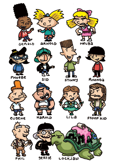 Who S Your Favorite Hey Arnold Character Hey Arnold Characters Hey Arnold 90s Cartoons