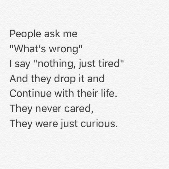 No One Cares About What Im Going Through Quotes
