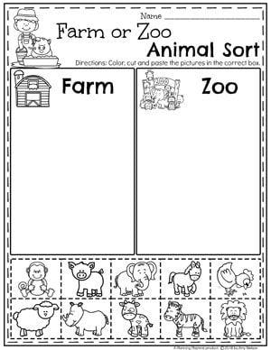 Preschool Farm Theme   Навчання, Освіта і Розвиток дитини