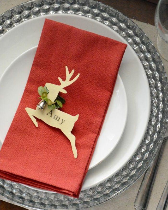 so k nnen sie originelle weihnachtliche tischkarten. Black Bedroom Furniture Sets. Home Design Ideas